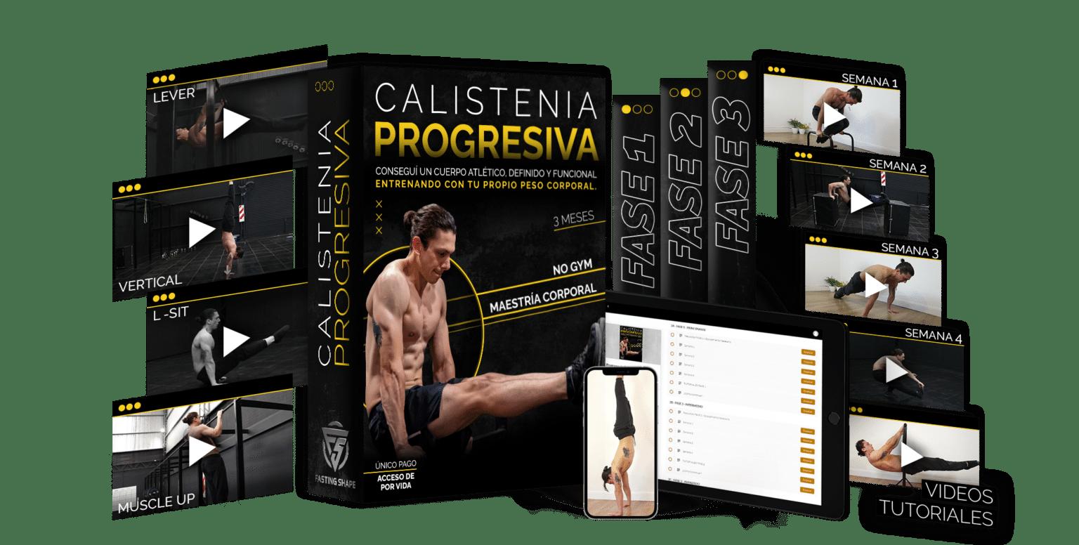 Calistenia Progresiva 2.0 - Fasting Shape a bajo costo